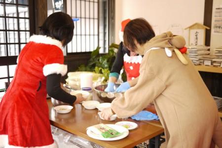農家で女子会12月