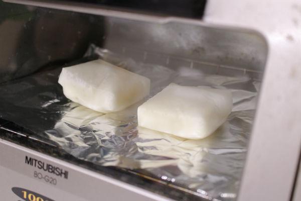 お餅の焼き方(トースター編)