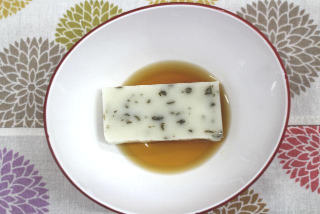 めんつゆ昆布餅