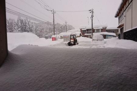雪かき 大雪