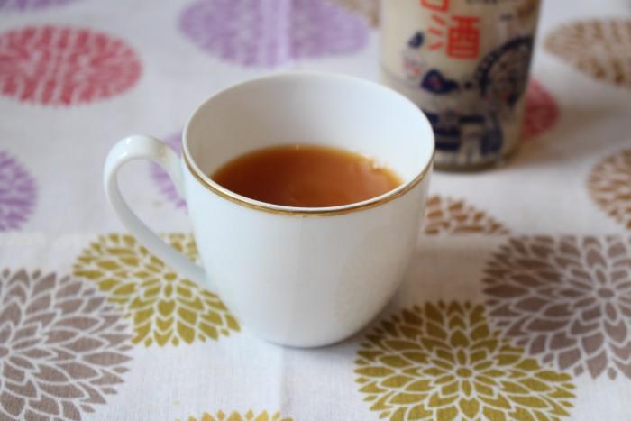 紅茶 甘酒