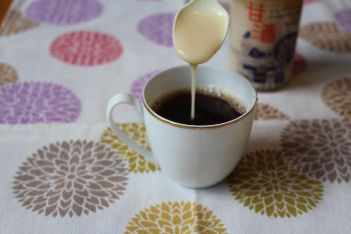 コーヒー 甘酒