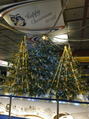 金沢駅クリスマスツリー