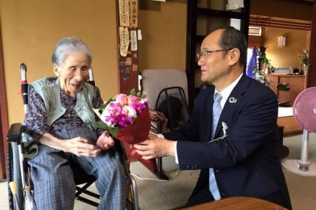 藤子ばぁちゃん 100歳