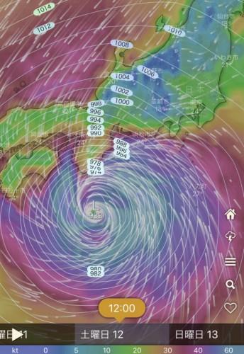 台風191012_12時