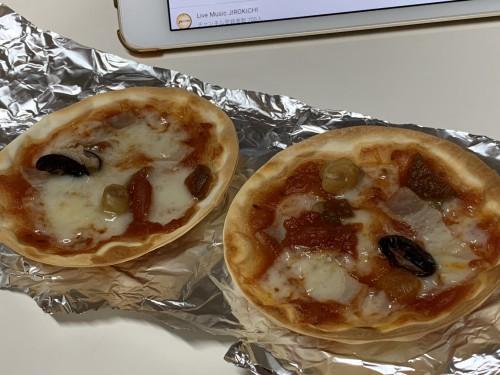 餃子の皮ピザ200519
