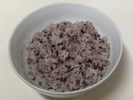 黒米入りご飯200616
