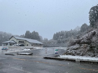 ジャパンファーム 雪